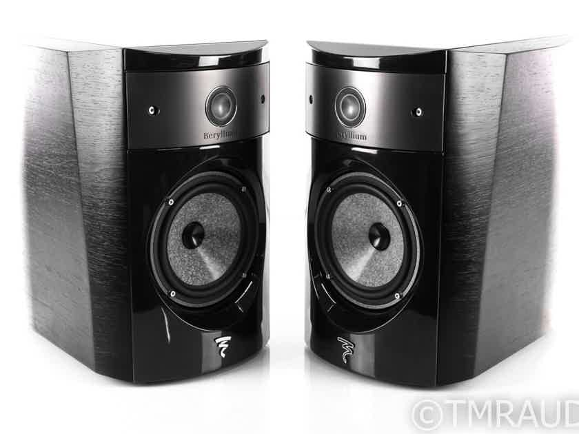 Focal Electra 1008 BE II Bookshelf Speakers; Ash Black Pair (22659)