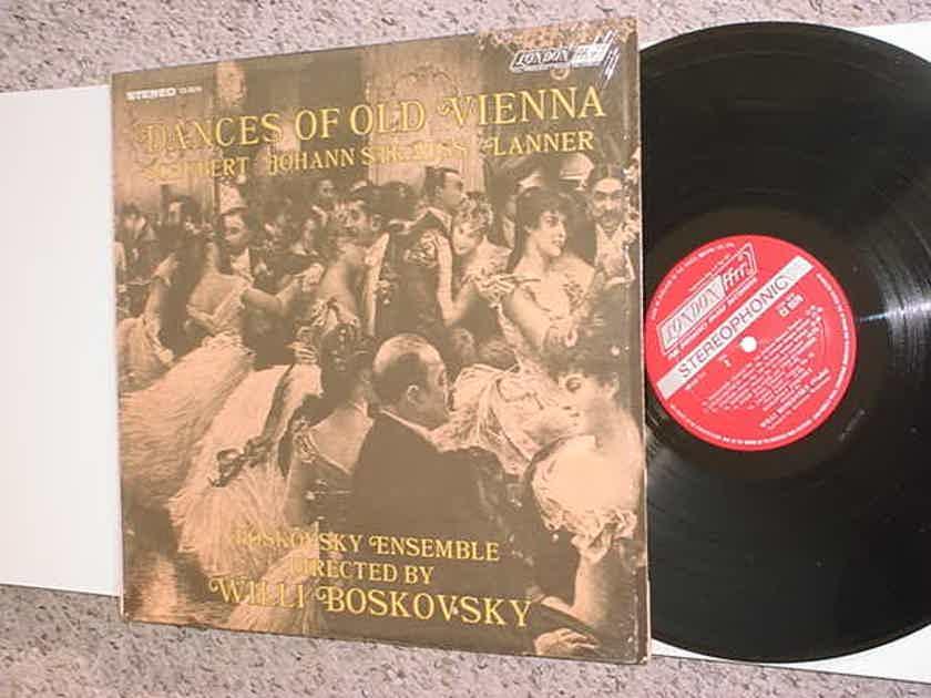 Willi Boskovsky lp record - Dances of old Vienna Schubert Strauss Lanner in shrink 1968