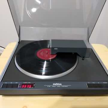 Revox B-790 Turntable With Cartridge. Near Mint!