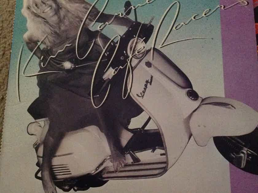 Kim Carnes - Cafe Racers EMI America Records  Promo Stamp Front Cover Vinyl LP NM