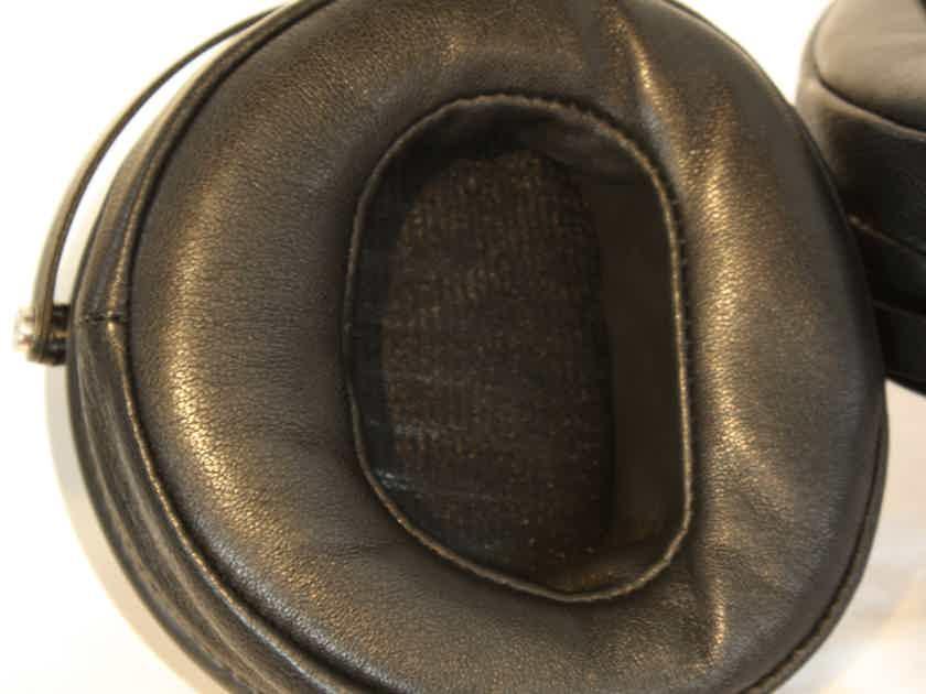 Audeze LCD-XC Headphones. Bubinga Wood Cups and Lambskin Earpads.