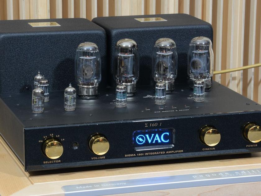 VAC Sigma 160i demo  - 115/230V from Europe