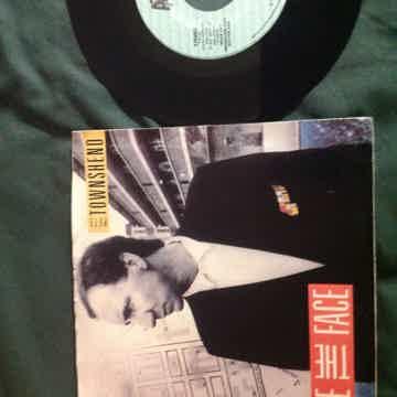 Pete Townshend - Face The Face Atco Records Promo 45 Si...