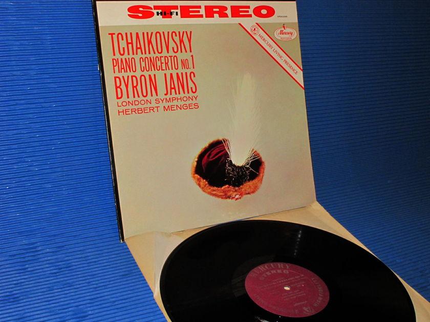 "TCHAIKOVSKY / Byron Janis   - ""Piano Concerto no.1"" - Mercury Living Presence 1960's"