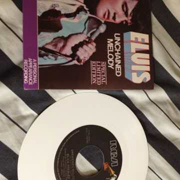 Elvis Presley - Unchained Melody RCA Records Canada Whi...