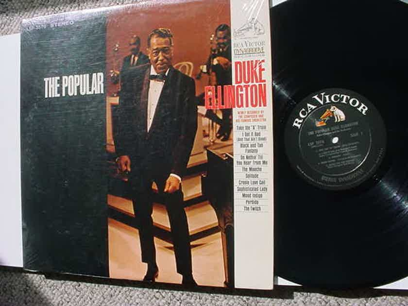 jazz Duke Ellington lp record - The Popular  in shrink RCA Dynagroove LSP-3576 STEREO
