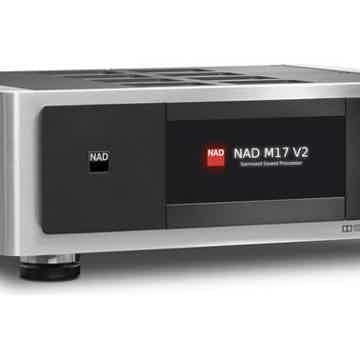 NAD Masters Series M17 V2 audiophile preamp/processor