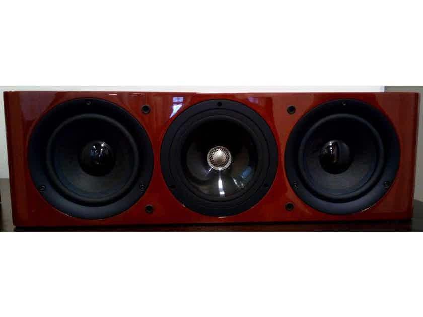 KEF Reference Series 202c Centre Speaker Cherry Floor Stock