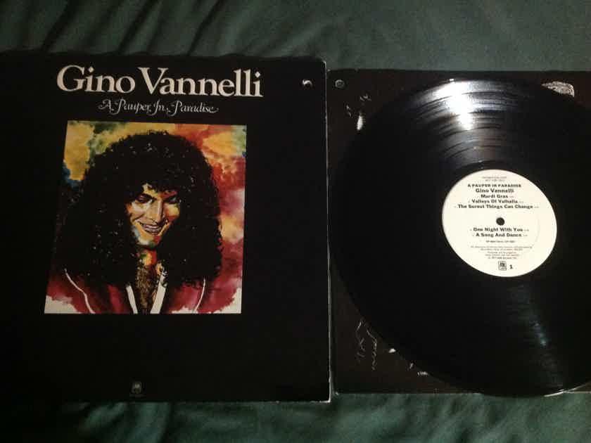 Gino Vannelli - A Pauper In Paradise A & M Records White Label Promo Vinyl  LP NM