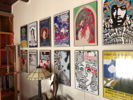 Reproduction vintage concert poster collection