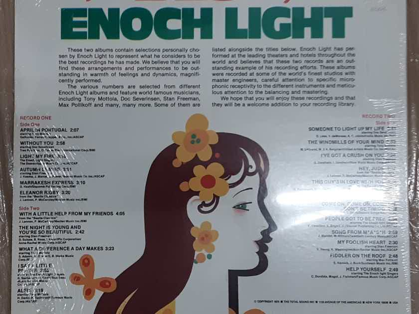 Enoch Light & The Light Brigade - The Best Of Enoch Light SEALED Double Vinyl LP 1978  Project 3 Total Sound PR2-6029/6030SD