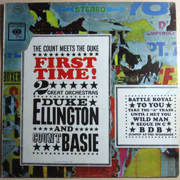Duke Ellington And Count Basie - ‎First Time!  The Coun...