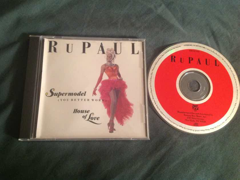 Rupaul  Supermodel (You Better Work)/House Of Love Tommy Boy Records EP