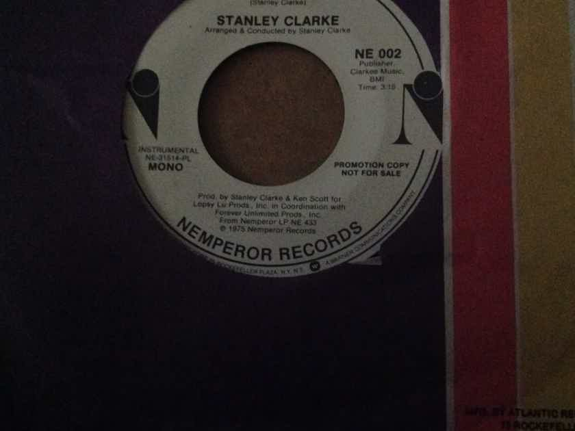 Stanley Clarke - Silly Putty Nemperor Records Promo Single Mono/Stereo 45 Vinyl NM