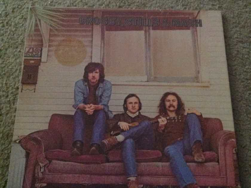 Crosby,Stills & Nash - Self Titled Couch Cover Atlantic Records With Lyric Sheet Vinyl  LP NM