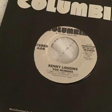 Kenny Loggins Vox Humana Promo 45 NM