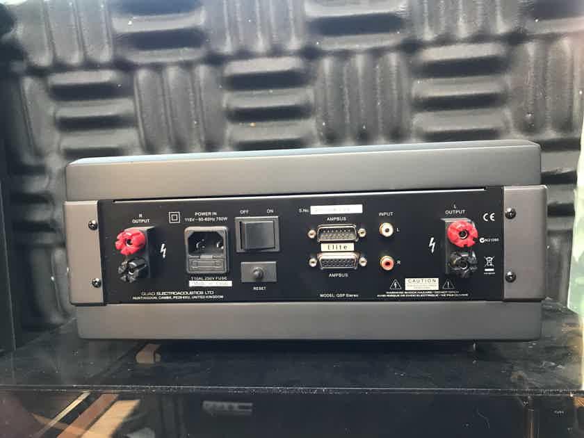 Quad Elite QSP Stereo Amplifier (New Lower Price)