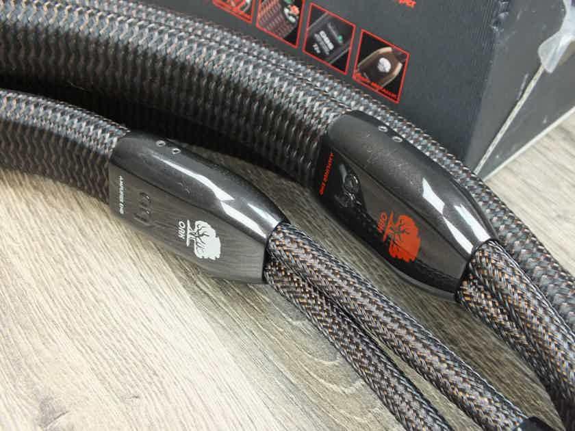 AudioQuest Oak speaker cables biwire 2,0 metre