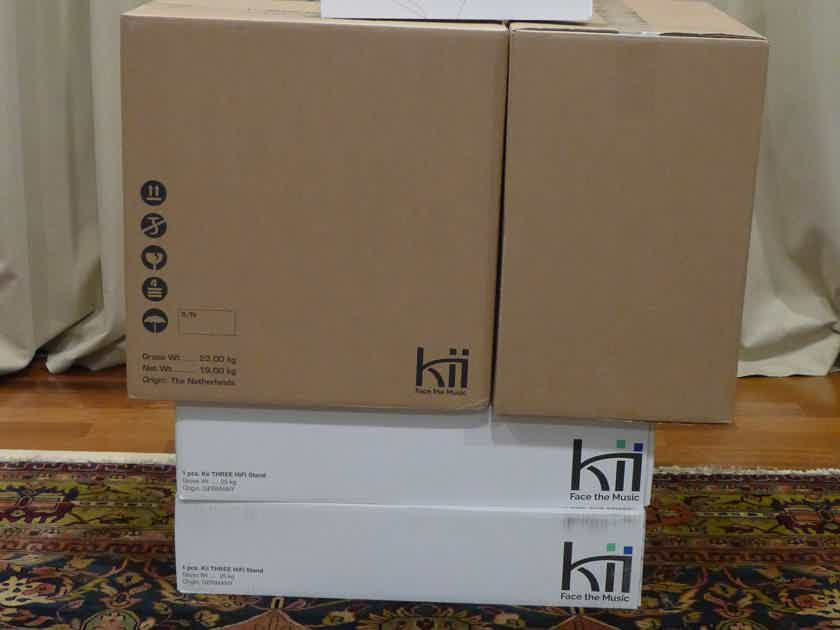 Kii Audio Kii Three with Stands and remote - SEALED
