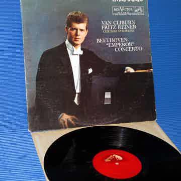 """BEETHOVEN / Reiner / Van Cliburn  - """"Emperor Concerto"""" ..."""