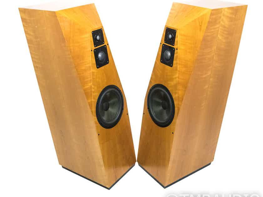 Avalon Acoustics Ascent Mk II Floorstanding Speakers; Cherry Pair; Crossovers (21445)