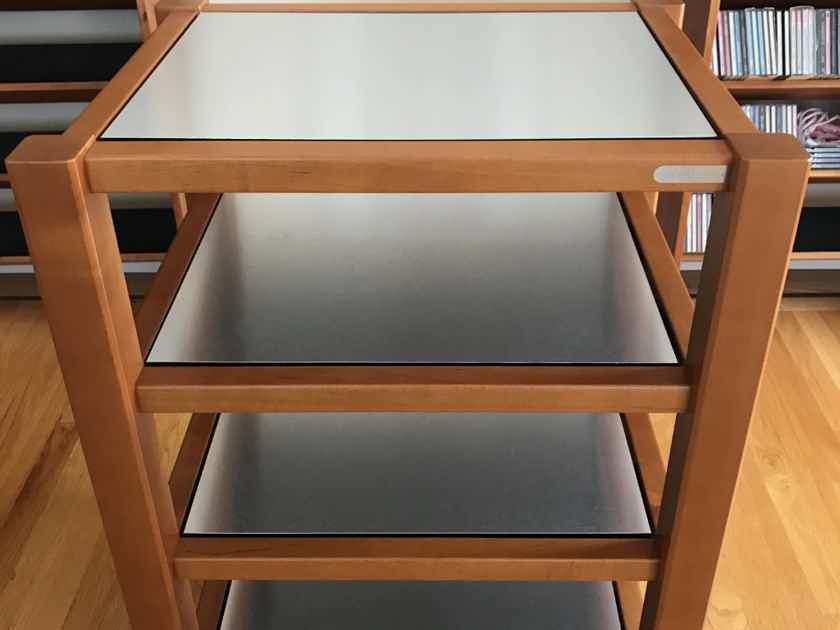 Zoethecus Z Slab Four Shelf Equipment Rack Cabinets