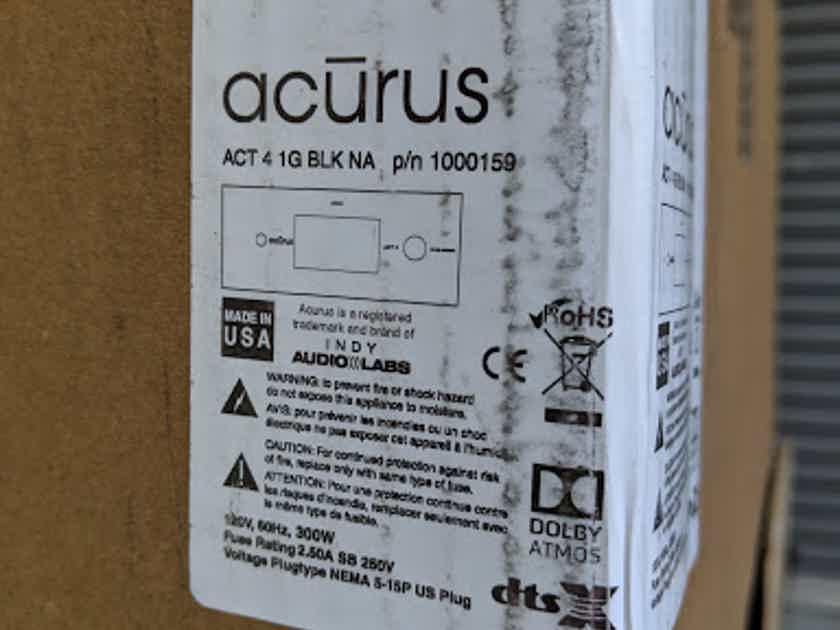 Acurus ACT-4 16 channel immersive HD audio pre-amp processor