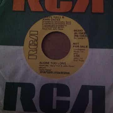 Hall & Oates - Alone Too Long RCA Records Promo Single ...