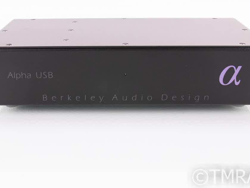 Berkeley Alpha USB Reclocker; D/D Converter; S/PDIF; AES/EBU (19116)