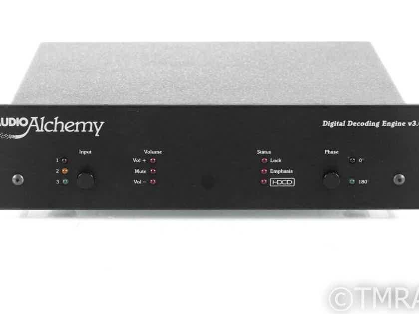 Audio Alchemy Digital Decoding Engine v3.0 DAC; Power Station 4 PSU; DDE (21475)