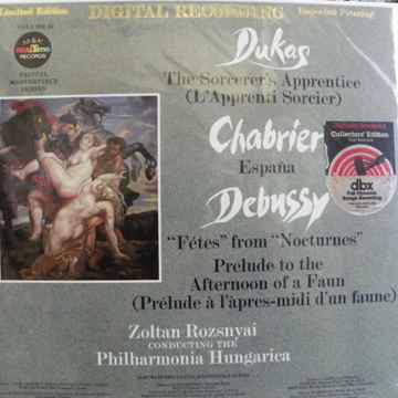 DUKAS,CHABRIER,DEBUSSY