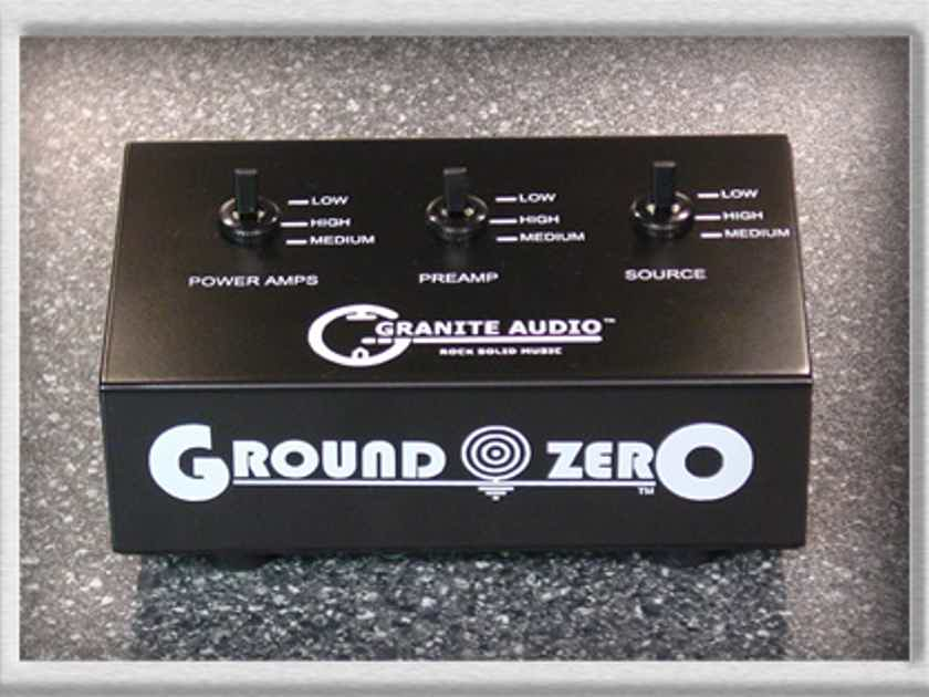 Granite Audio ground Zero #500 eliminate your ground loops
