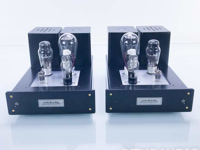 DIY Hifi Supply Lux 91 Mono Max Mono Tube Power Amplifier; Pair; Lux91 (17124)