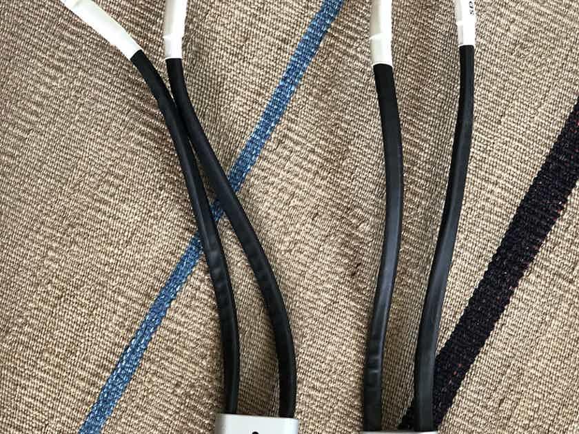 Tellurium Q Silver Diamond Speaker Cable 2M Pair + Bi-wire/Link Set 30CM - 40% OFF!!