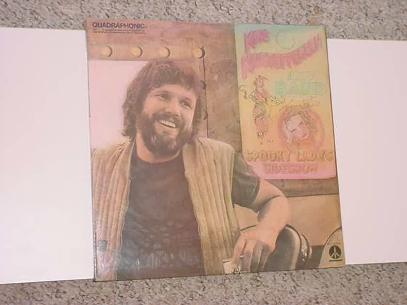 QUADRAPHONIC SEALED LP Record - Kris Kristofferson  spooky ladys sideshow 1974