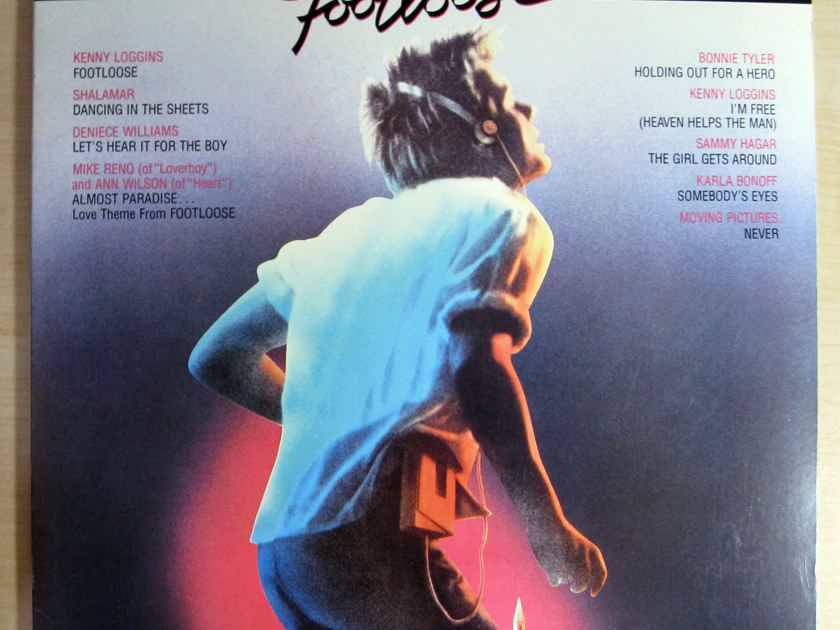 Footloose - Various Artists  - Footloose (Soundtrack)  -  Promo 1984 Columbia JS 39242
