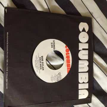 Bob Dylan - Solid Rock Promo Vinyl  45 Single NM Columb...