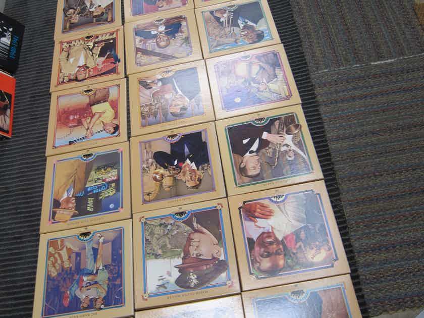 Armstrong,Shaw,Hampton,Goodman,Ellington 24 Time Life Half Speed Masters, 2 LP Box Sets, EX