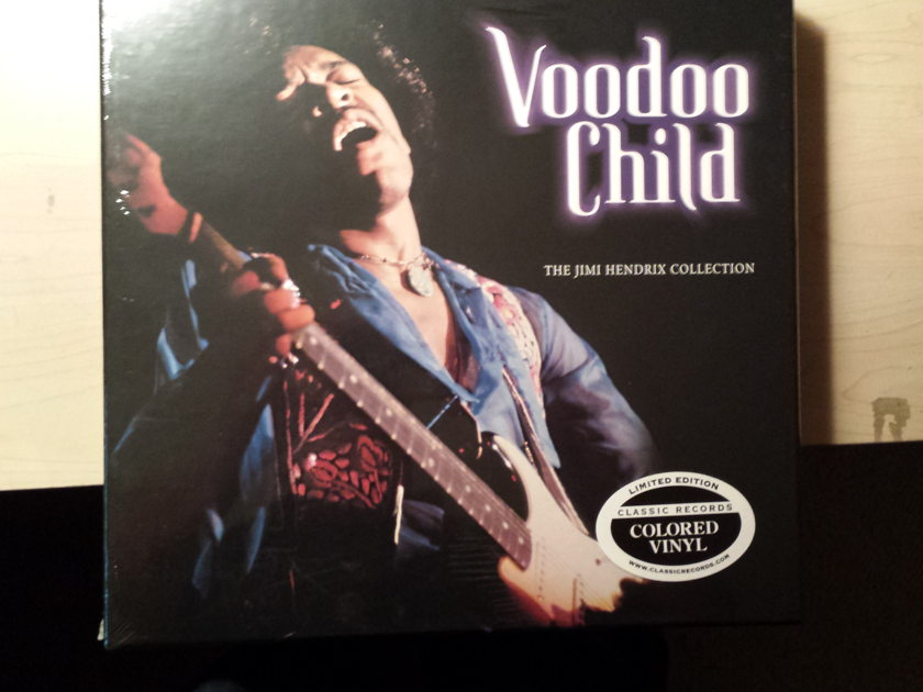 Jimi Hendrix - Voodoo Child - The Jimi Hendrix Collection  Classic Records - 140g Red Vinyl - New and Sealed!