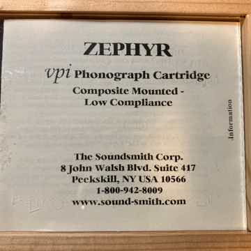 Soundsmith VPI Zephyr