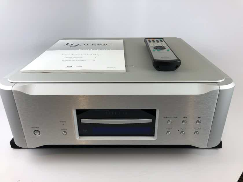 Esoteric K-03 SACD Player with Remote and Manual