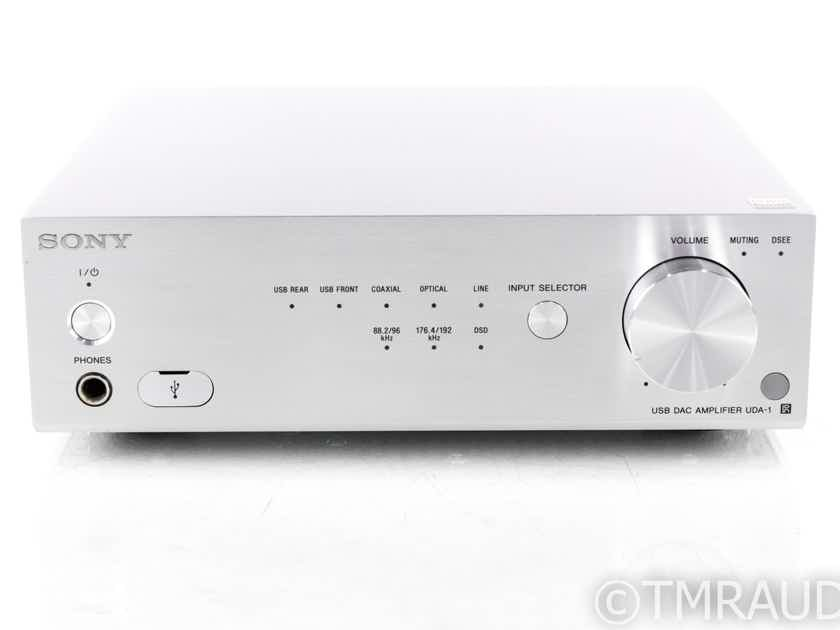 Sony UDA-1 Stereo Integrated Amplifier / DAC; UDA1; Remote (1/1) (20924)