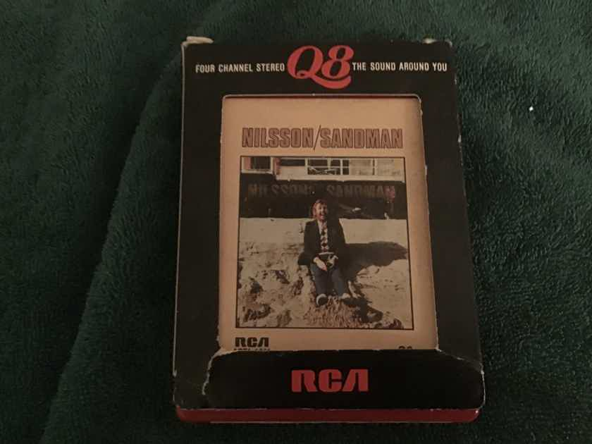Nilsson  Sandman RCA Quadraphonic 8 Track