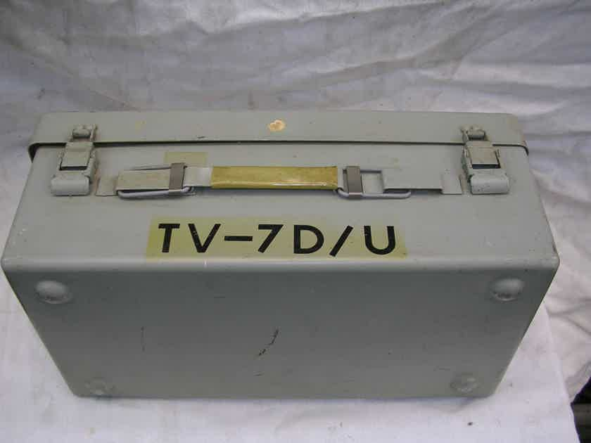 TV-7  D/U HICKOK TUBE_TESTER----VERY NICE Calibrated in 1999   INTERESTING TRADES ??????