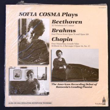 Sofia Cosma Plays Beethoven Brahms + Chopin