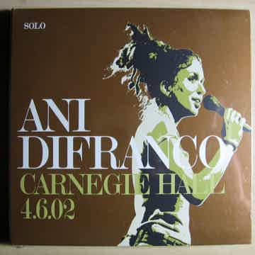 Ani DiFranco - Carnegie Hall 4.6.02 2006 CD SEALED Righ...