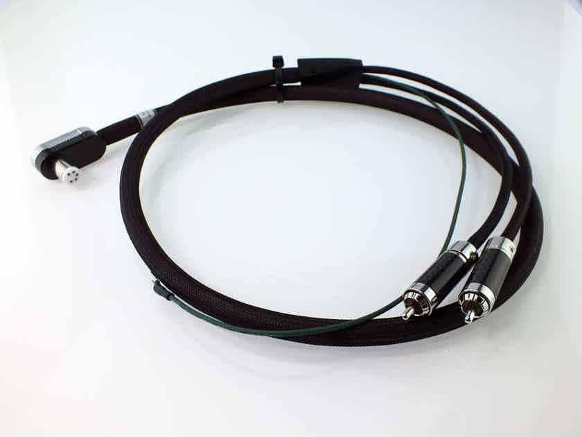 Furutech Silver Arrows Phono Cable (L-DIN/RCA - 1.2 Mtr); Pure Silver Wire; NEW-IN-BOX; 53% Off; Full Warranty