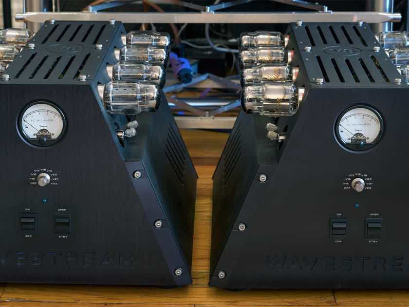 Wavestream Kinetics  V8 Mono Amplifiers / Scott Frankland Signature Model