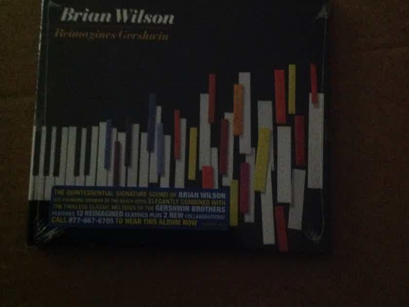 Brian Wilson - Reimagines Gershwin  Disney Pearl Records Sealed Compact Disc
