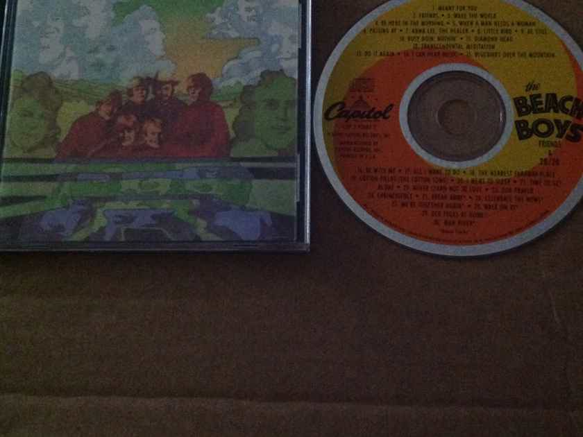 The Beach Boys - Friends 20/20  OOP 2 On 1 CD Brother Capitol Records